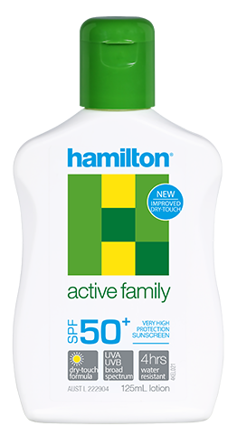 Hamilton Active Family Spf 50+ 125 ml.