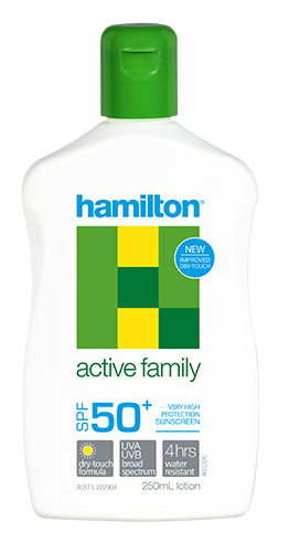 Hamilton Active Family Spf 50+ 250 ml.