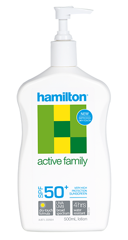 Hamilton Active Family Spf 50+ 500 ml.